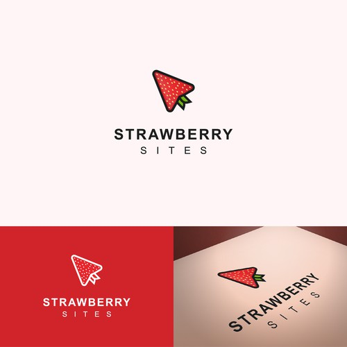 Modern logo for web design agency