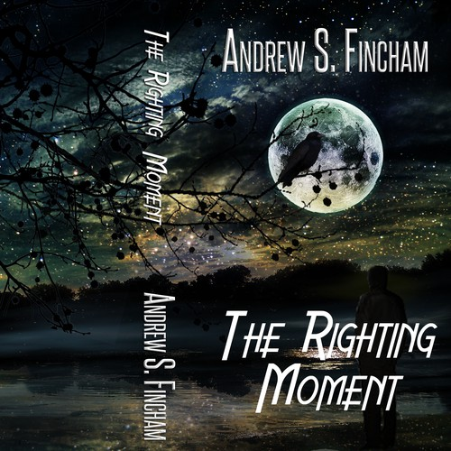 "Book Cover for ""The Righting Moment"""