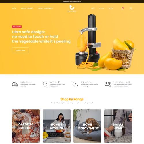 Home & Kitchen essentials ecommerce website