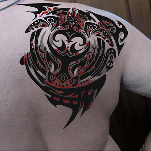 Design a Large Cover-up Tattoo Tribal or Nautical