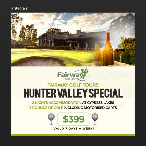 Fairway Golf Tours - Winter Promo
