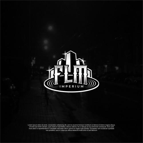 "Hip-Hop Music Label Logo ""FLM Imperium"""
