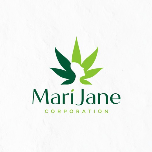 Modern Feminine Logo Design for a marijuana business