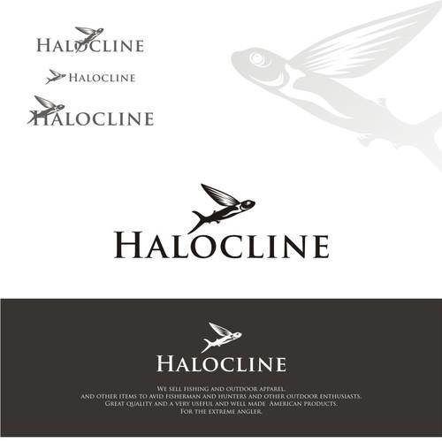 logo concept halocline
