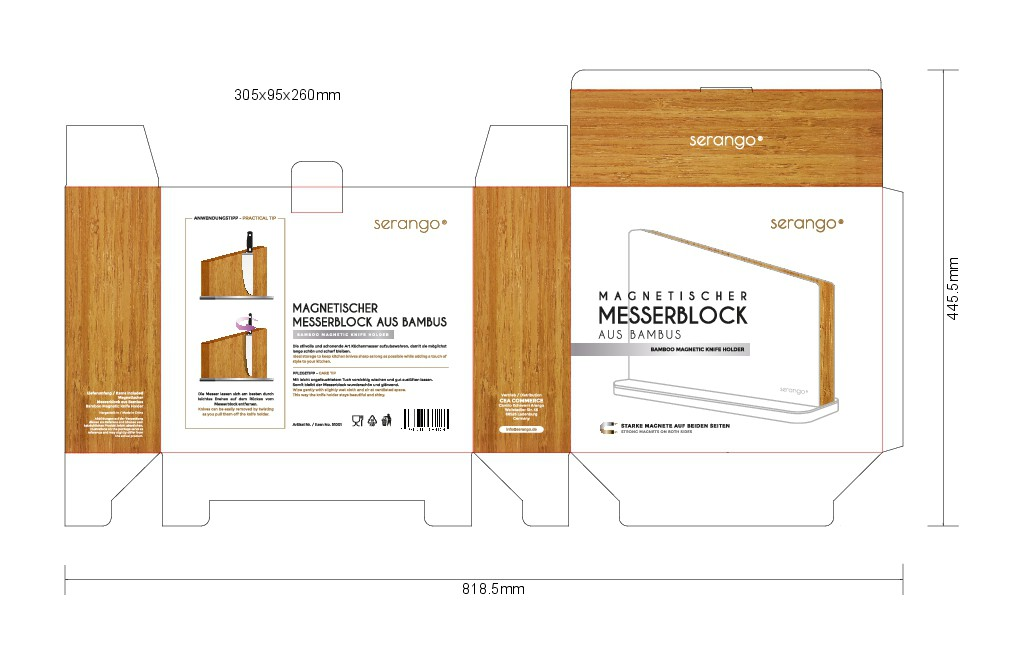 Kitchenware brand needs a natural and sophisticated packaging design