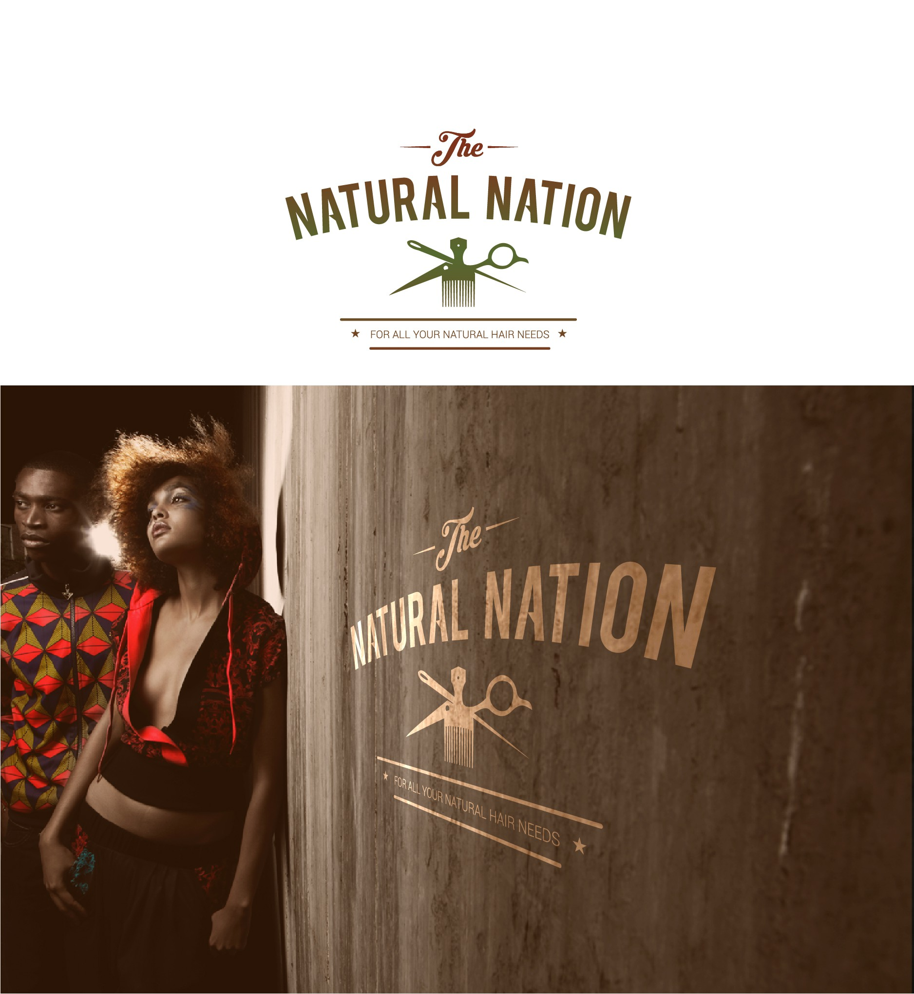 The Natural Nation, Afrocentric hairstyling