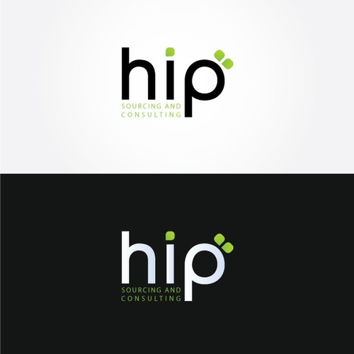 Logo for dynamic sourcing and consulting firm