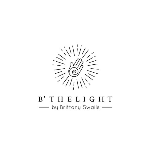 Logo concept of B'THELIGHT