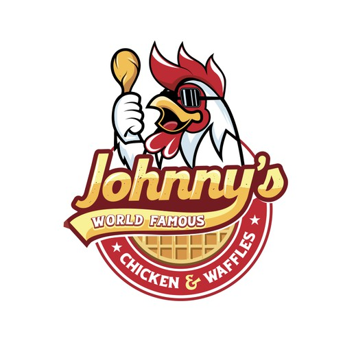 Logo for a southern fried chicken restaurant