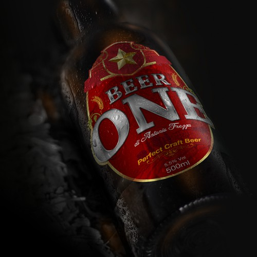 Label Design for Beer ONE