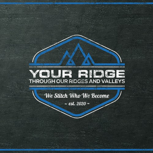 Geometric logo concept for Your Ridge