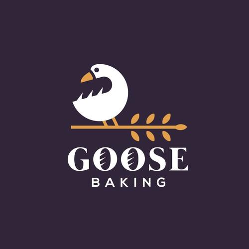 goose baking