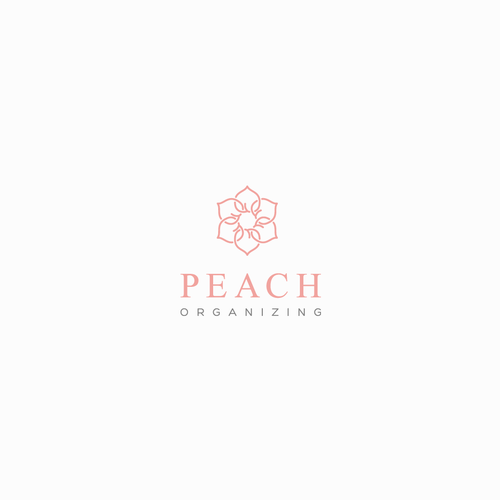 Peach Organizing Logo Design