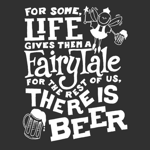 Design a fun T-shirt slogan for a beer focused company!!!