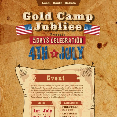 Gold Camp Jubilee 4th of July Festival