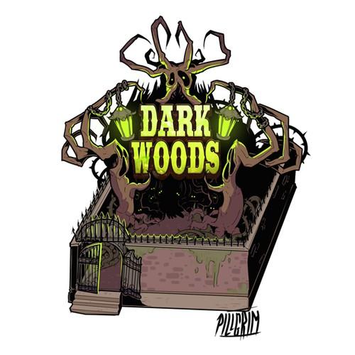 """""""DARK WOODS"""" Attraction"""