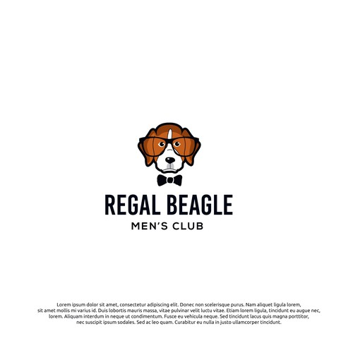 logo concept for regal beagle