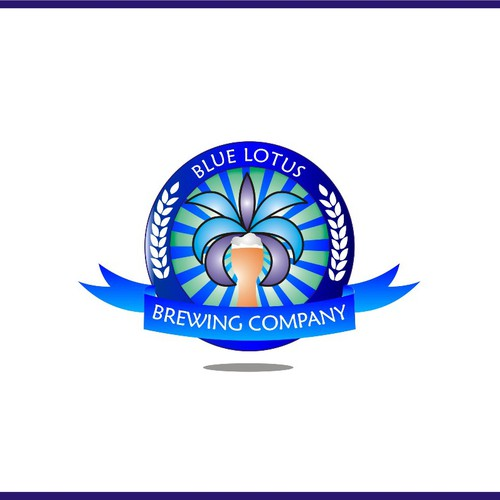 Create a custom logo for branding a new craft beer brewery.