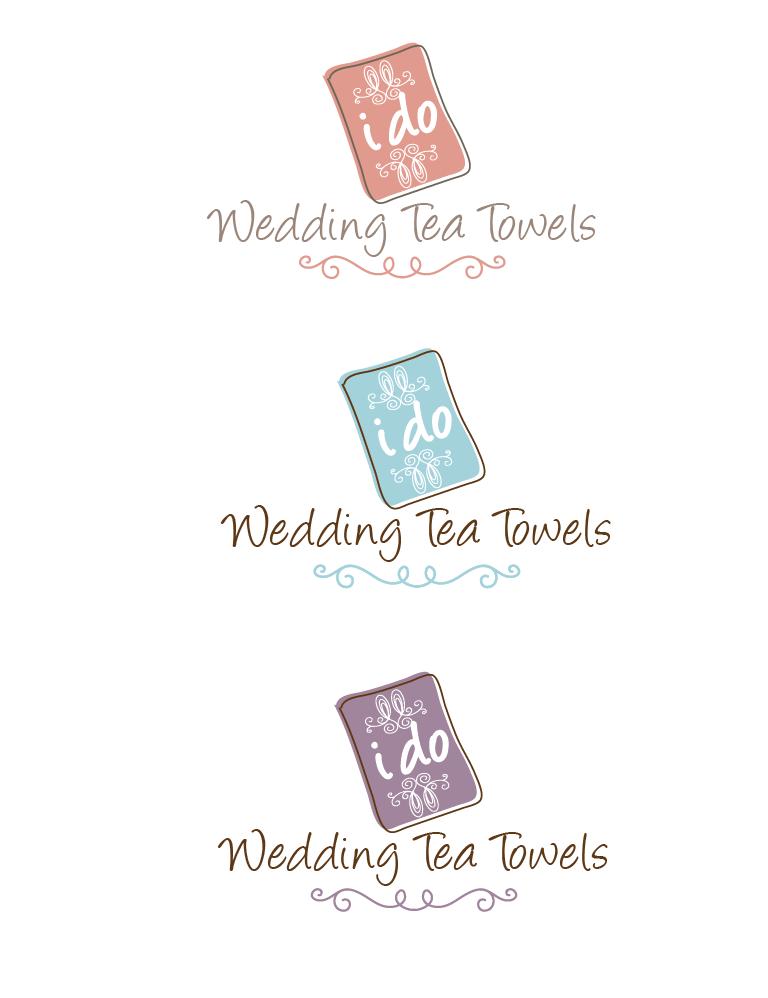 Help I Do Wedding Tea Towels with a new logo
