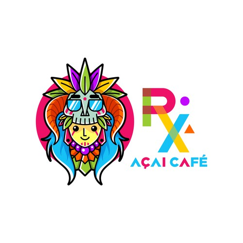 Cool Logo for Acai Cafe