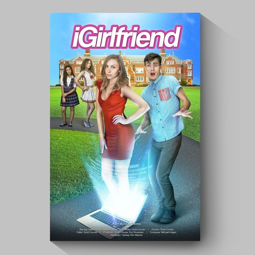 IGirlfriend movie poster design