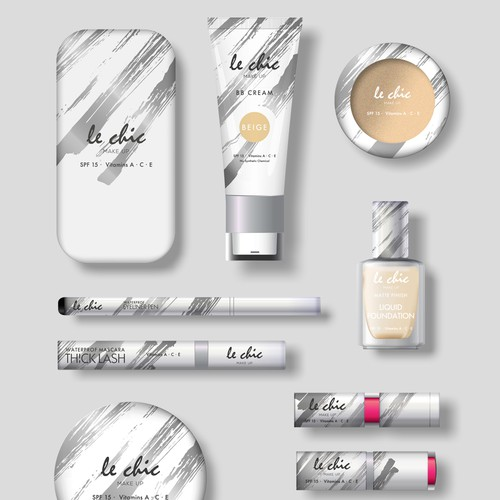 Le Chic Make Up Packaging