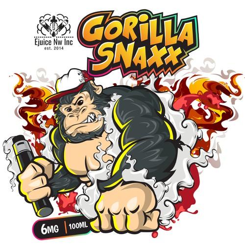 gorilla snap
