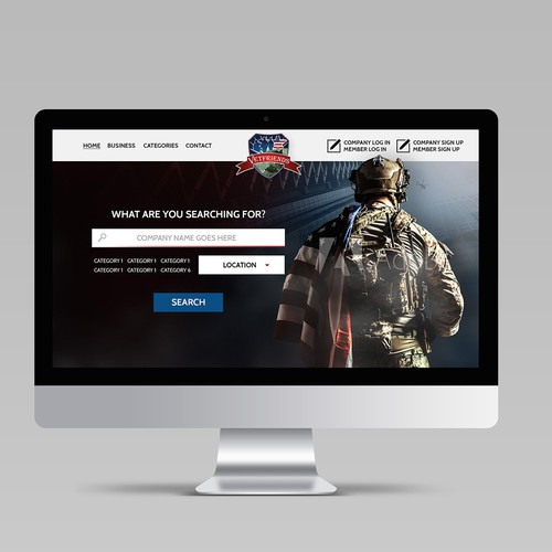 U.S. Veteran website for Trusted Company Reviews