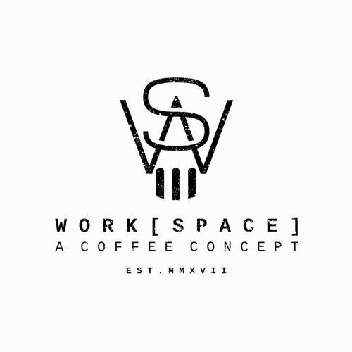 logo concept for coffee shop student center
