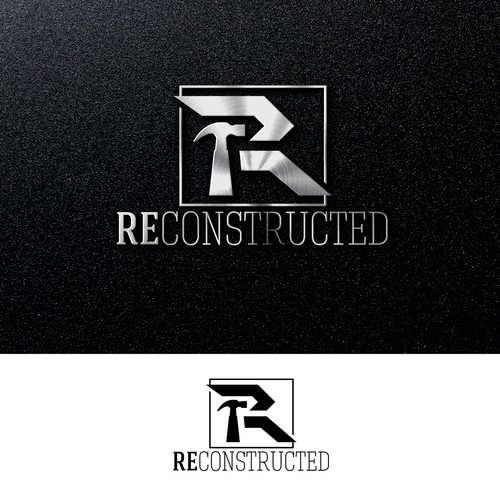 bold logo concept for reconstructed