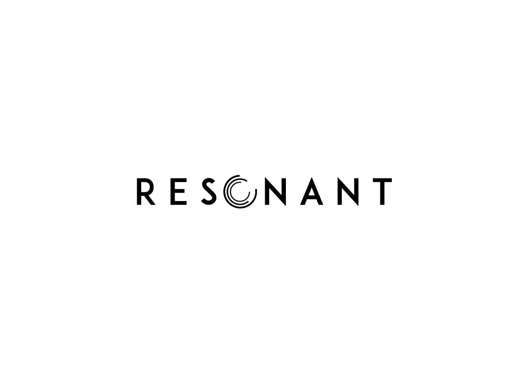 Design a logo for 'Resonant' expertise centre