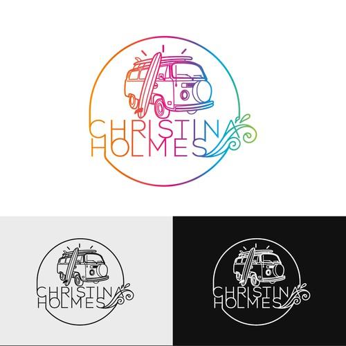 Logo for a singer/songwriter
