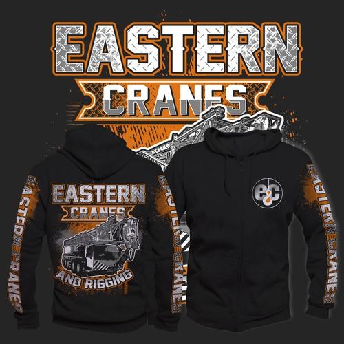 eastern cranes hoodie