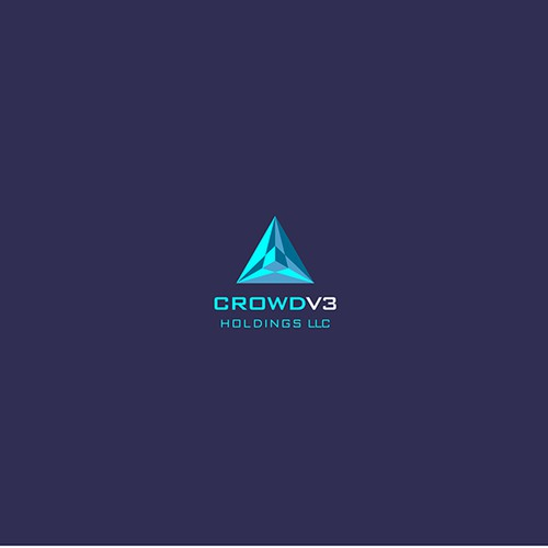 Tech futuristic logo