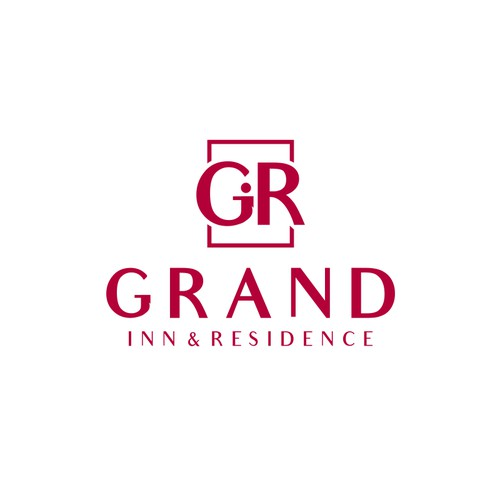 Monogram logo for Grand Inn & Residence
