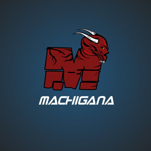 Evil Logo Concept for Ice Hockey Manufacturing Company