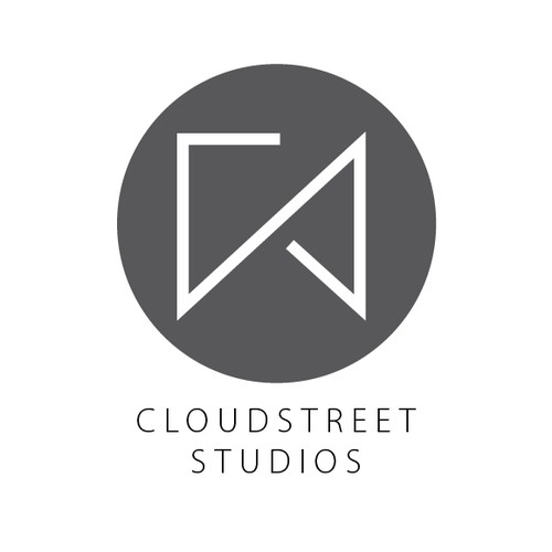 Create a clean, uncluttered logo for Cloudstreet Studios