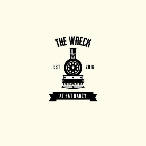 vintage logo for the wreck