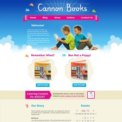 website design for Cannonbooks.org
