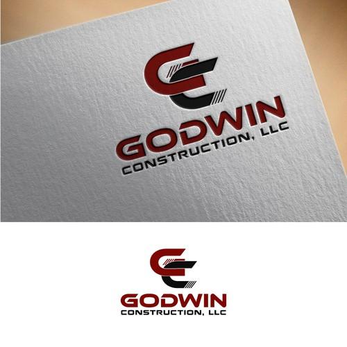 Logo for Godwin Construction, LLC rebranding