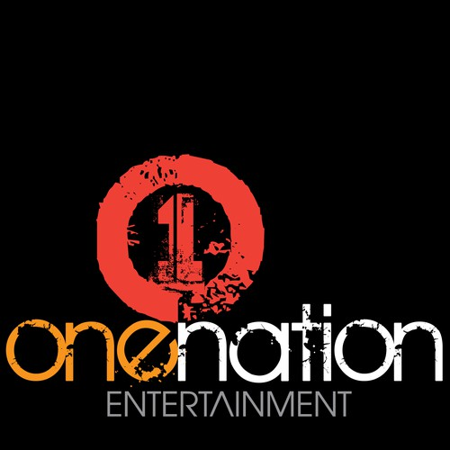 Help one nation entertainment with a new logo and business card