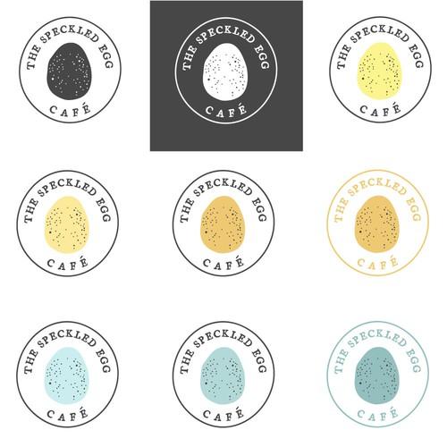 New Restaurant Logo - The Speckled Egg Café