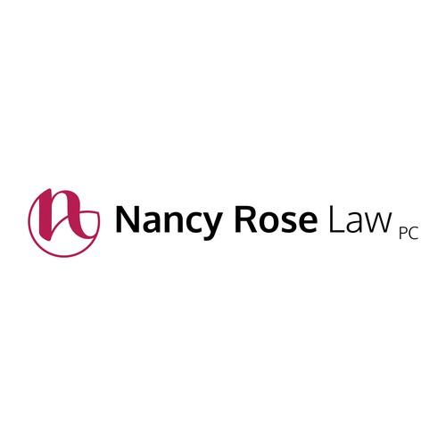 Elegant monogram logo for law firm