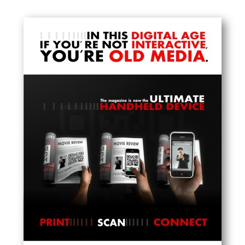 Advertisment for an exciting new Mobile Media Technology