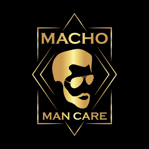 Logo Concept For Macho Man Care