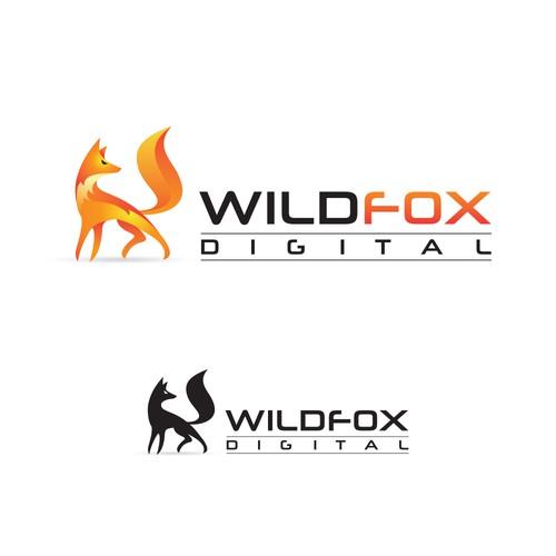 Modern logo for a website design company