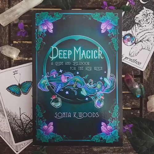 Deep Magic - Book illustration cover and layout