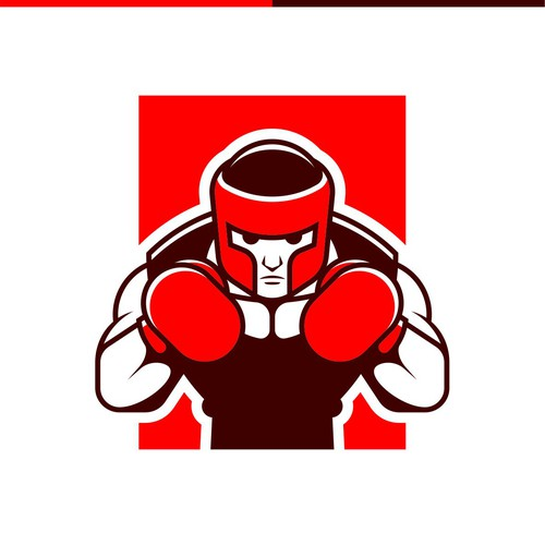 character logo for boxing product