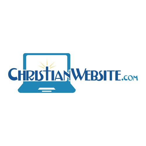 Logo for a website that helps Christians build their own websites