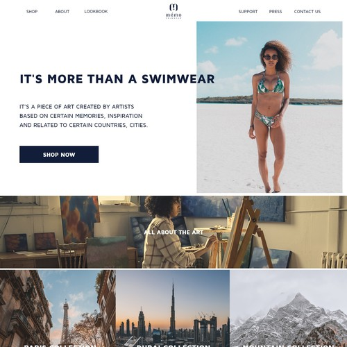 swimwear website